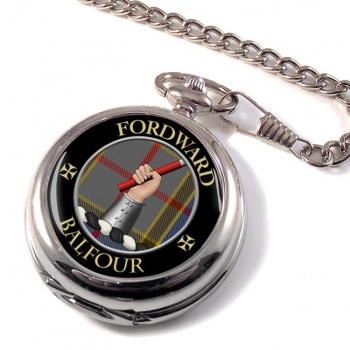 Balfour Scottish Clan Pocket Watch