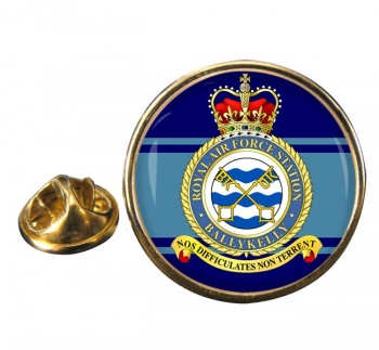 RAF Station Ballykelly Round Pin Badge