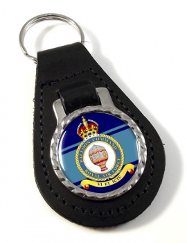 Balloon Command (Royal Air Force) Leather Key Fob