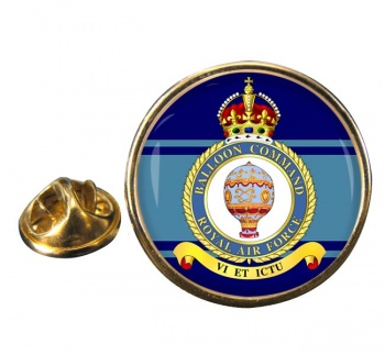 Balloon Command (Royal Air Force) Round Pin Badge