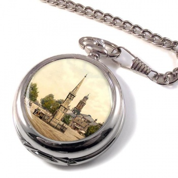 Banbury Cross Oxfordshire Pocket Watch