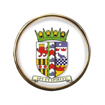 Banffshire (Scotland) Round Pin Badge