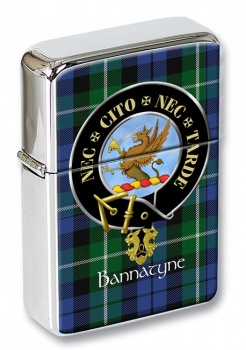 Bannatyne Scottish Clan Flip Top Lighter