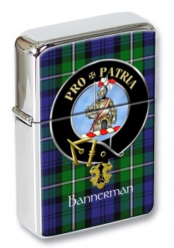 Bannerman Scottish Clan Flip Top Lighter