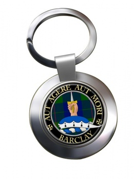 Barclay Scottish Clan Chrome Key Ring