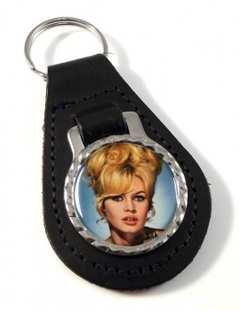Brigitt Bardot Leather Key Fob