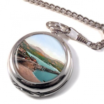 Barmouth Bridge & Cadair Idris Pocket Watch