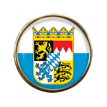 Bayern Bavaria (Germany) Round Pin Badge