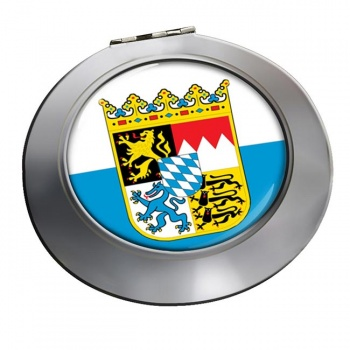 Bayern Bavaria (Germany) Round Mirror