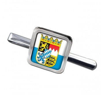 Bayern Bavaria (Germany) Square Tie Clip