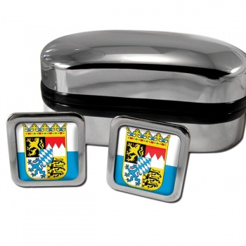 Bayern Bavaria Germany Square Cufflinks