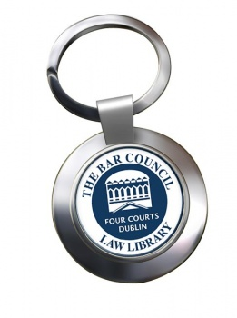 Bar Council Law Library Chrome Key Ring