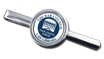 Bar Council Law Library Round Tie Clip