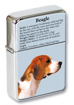 Beagle Flip Top Lighter
