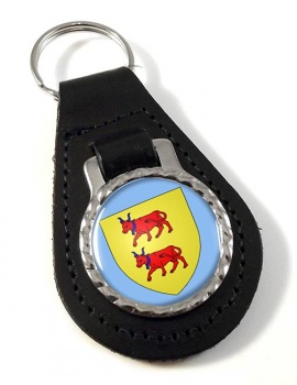 Bearn (France) Leather Key Fob