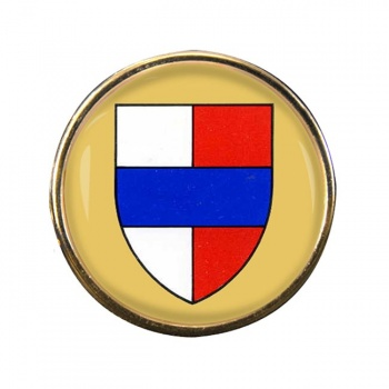 Bedford (England) Round Pin Badge