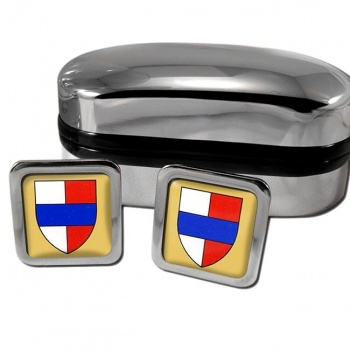 Bedford England Square Cufflinks