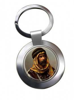 A Bedouin Chief Chrome Key Ring
