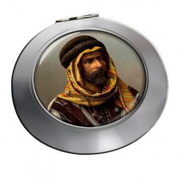 A Bedouin Chief Chrome Mirror