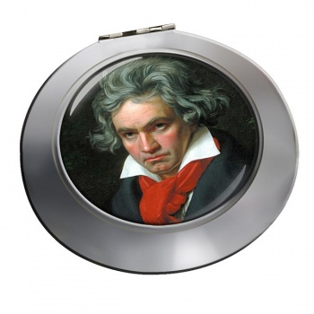 Ludwig van Beethoven Chrome Mirror