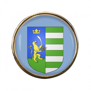 Bekes Round Pin Badge