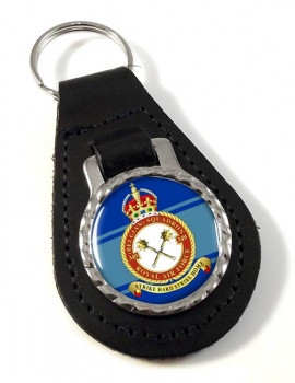 349th  Belgium Air Component Leather Key Fob