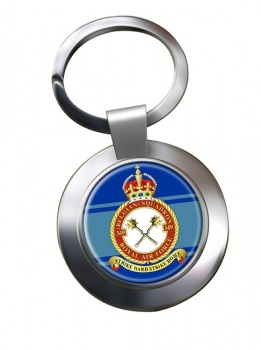 349th  Belgium Air Component Chrome Key Ring