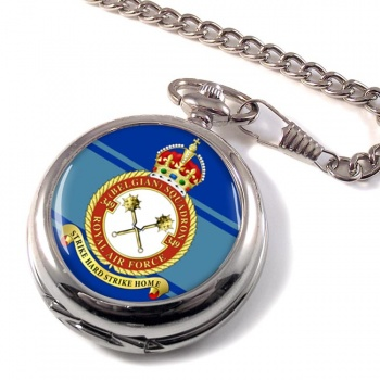 349th  Belgium Air Component Pocket Watch
