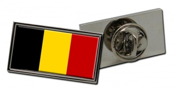 Belgique Belgie (Belgium) Flag Pin Badge