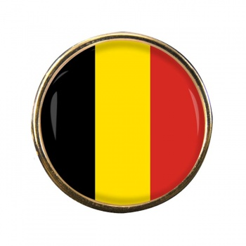 Belgique Belgie (Belgium) Round Pin Badge