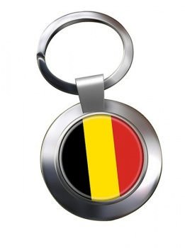 Belgique Belgie (Belgium) Metal Key Ring