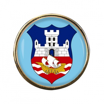 Belgrade (Serbia) Round Pin Badge