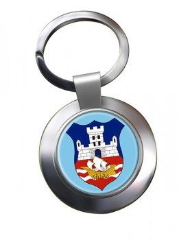 Belgrade  (Serbia)  Metal Key Ring