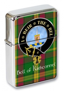 Bell of Kirkconnel Scottish Clan Flip Top Lighter