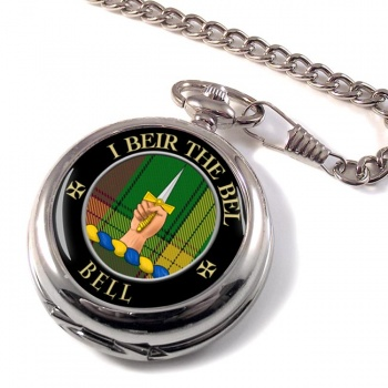 Bell of Kirkconnel Scottish Clan Pocket Watch