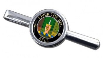 Bell of Kirkconnel Scottish Clan Round Tie Clip