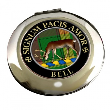 Bell of Provoschaugh Scottish Clan Chrome Mirror