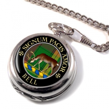 Bell of Provoschaugh Scottish Clan Pocket Watch