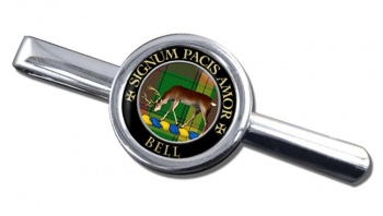 Bell of Provoschaugh Scottish Clan Round Tie Clip