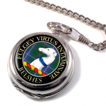 Belshes Scottish Clan Pocket Watch