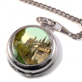 Behind Magdalen College Oxford Pocket Watch