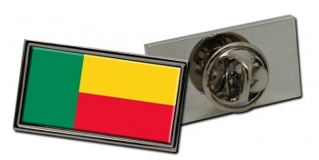 Benin Flag Pin Badge