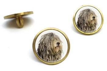 Bergamasco Shepherd  Golf Ball Marker Set