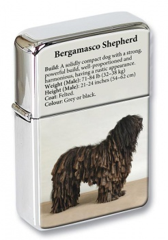 Bergamasco Shepherd Flip Top Lighter