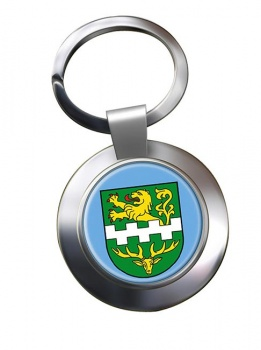 Bergisch Gladbach (Germany) Metal Key Ring
