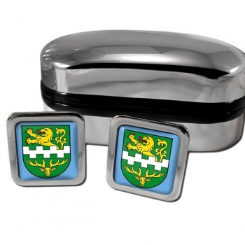 Bergisch Gladbach Germany Square Cufflinks