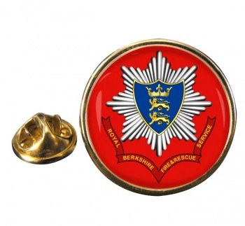 Royal Berkshire Fire and Rescue Round Pin Badge