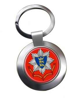 Royal Berkshire Fire and Rescue Chrome Key Ring
