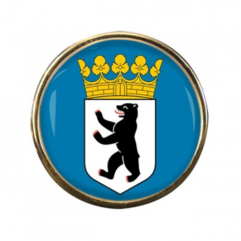 Berlin (Germany) Round Pin Badge