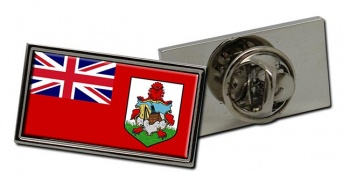 Bermuda Flag Pin Badge